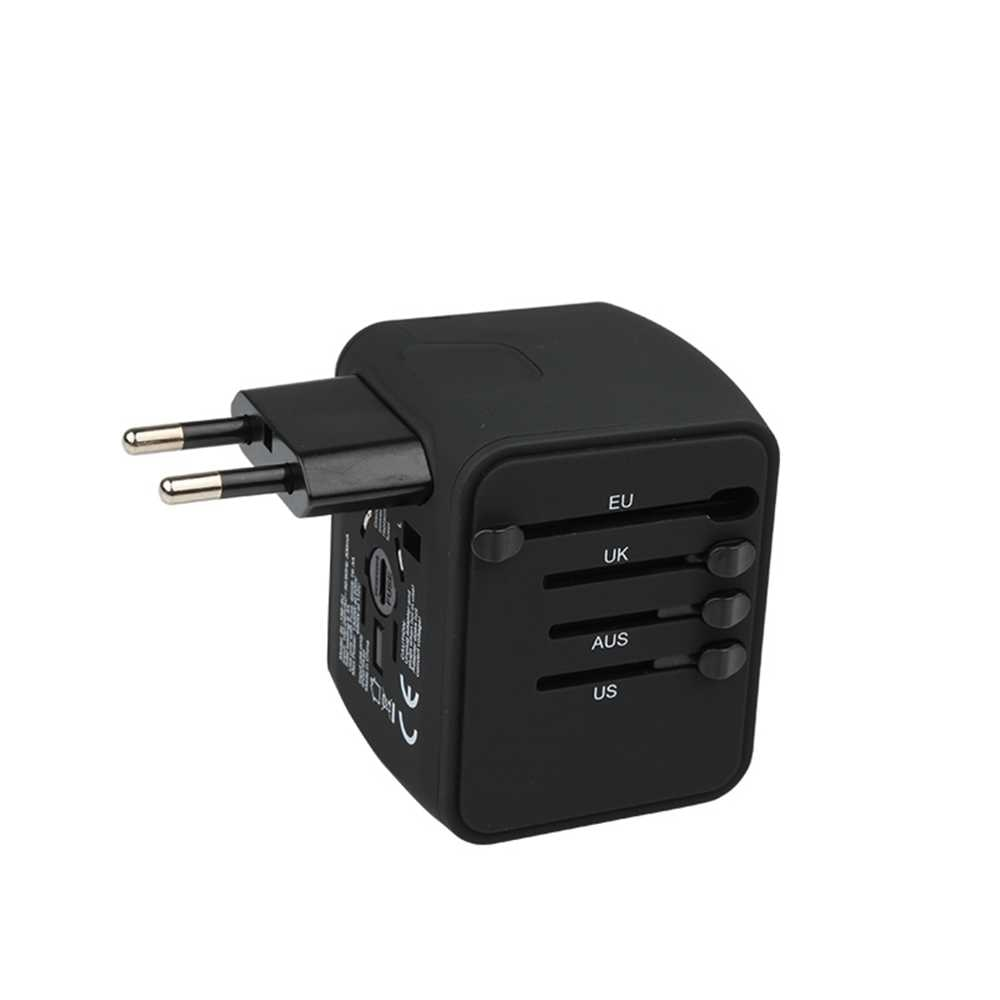 Travel Socket Adapter with USB Ports