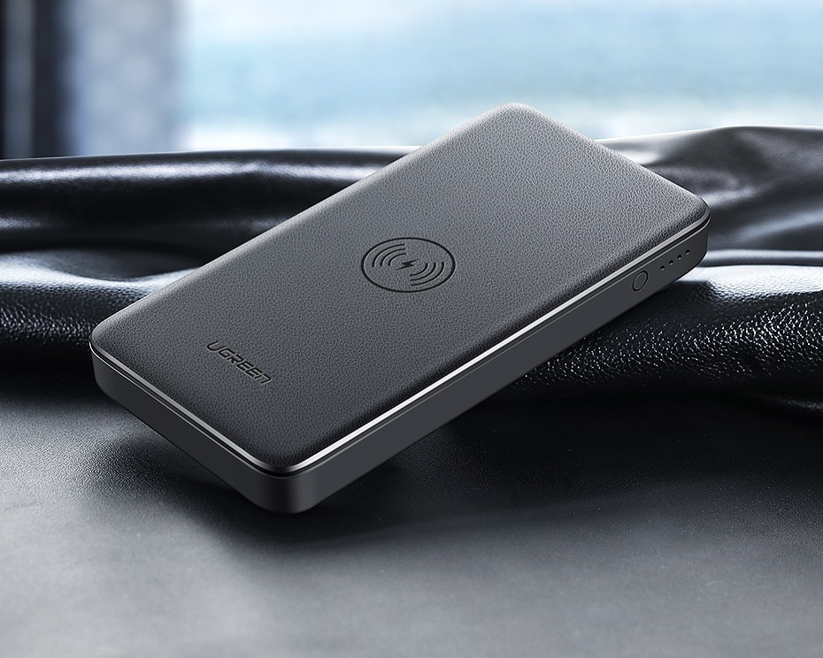 10000 mAh Qi Wireless Power Bank