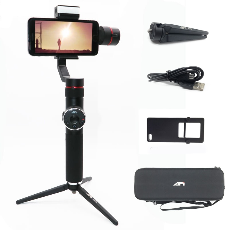 3-Axis Handheld Phone Stabilizer with Light